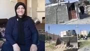 اعتراض تند مجری تلویزیون به نحوه تخریب آلونکهای شهرک فدک کرمانشاه