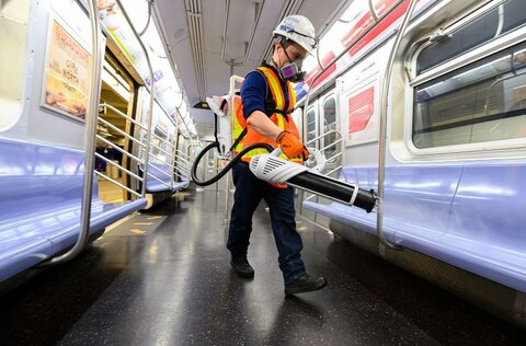 ضدعفوني كردن متروي نيويورك