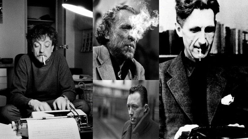 نویسندگان و سیگار