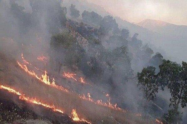 آتشسوزی در خائیز