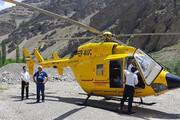 تجهیز جاده کرج-چالوس به پد بالگرد اورژانس