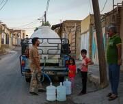 عکس | لوله کشی عجیب و غریب آب در حصیر آباد اهواز
