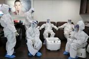 عکس | وضعیت آرایشگاههای هند پس از رفع محدودیتهای قرنطینه
