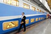 قطار ۲ طبقه همدان - تهران راهاندازی میشود