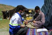تصویر | پایش و غربالگری سلامت عشایر استان همدان