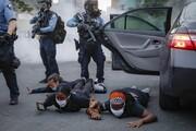 عکس روز | بازداشت در مینیاپولیس