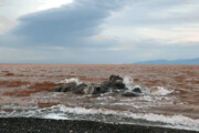 حجم آب دریاچه ارومیه همچنان فراتر از ۵ میلیارد مترمکعب