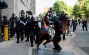 عکس روز| پلیس ضد شورش در واشنگتن