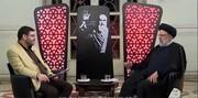 فیلم | برخورد قاطع رئیسی جوان با بنیصدر و خلخالی