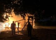 آتش سوزی پارک چوبی کیانپارس اهواز عمدی بود
