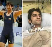 آخرین وضعیت قهرمان آسیا که مورد ضرب و شتم شدید قرار گرفته بود