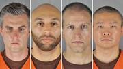 ۴ قاتل جورج فلوید درلباس زندان | ۱۶۰سال حبس در انتظار متهمان