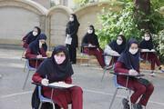 امتحانات نهایی دانشآموزان آغاز شد   فاصله دو متری صندلیها و زوج و فرد شدن روزهای امتحان بر اساس رشته