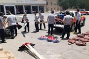 اعزام ۶ تیم آتشنشان تهران برای مهار آتشسوزی جنگلها و مراتع کهگیلویه و بویراحمد