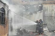 آتشسوزی کارخانه تولیدی در ورامین مهار شد
