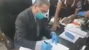 فیلم | مردم معترض مدیر کل را مجبور به استعفا کردند