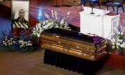 عکس روز | تابوت جورج فلوید در مراسم یادبود مینیاپلیس
