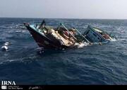 """جزئیات وضعیت شناور باری """"بهبهان"""" که در آبهای عراق غرق شد   ۴ نفر نجات یافتند"""