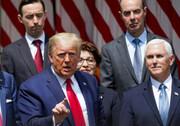 خشم آمریکا از سخنان ترامپ | این یک روز بزرگ برای جورج فلوید است