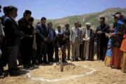 کلنگزنی پروژه آبرسانی به عشایر در شهرستان کوهرنگ