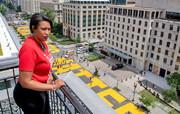 قدرتنمایی شهردار رنگینپوست واشنگتن | تغییر نام خیابان مقابل کاخ سفید به «جان سیاهان مهم است»