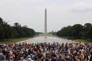 یک میلیون آمریکایی معترض در واشنگتن | کاخ سفید قلعه نظامی شد