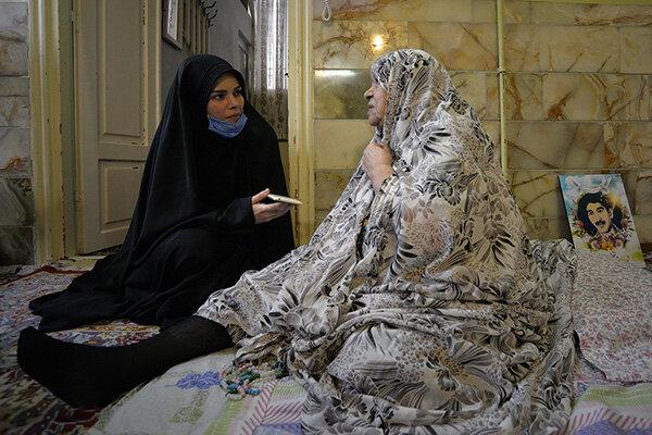 مادر شهید ابوالفضل مومنی