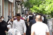 تصویر | عدم توجه مردم به فاصلهگذاری اجتماعی در آذربایجان غربی