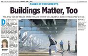 جان ساختمان مهم است یا جان انسان؟ | مدیر ارشد روزنامه آمریکایی کنارهگیری کرد