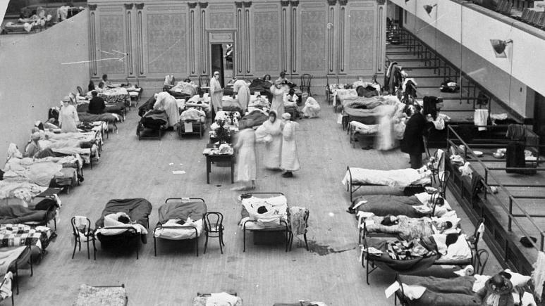 آنفلوآنزای اسپانیایی