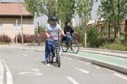 تجهیز پلهای عابر پیاده پایتخت به رمپ عبور دوچرخه