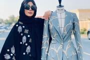 درخشش زن ایرانی در مسابقه مد پایدار امارات | تصاویر لباسها