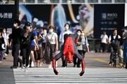 عکس روز | مرد عنکبوتی در توکیو