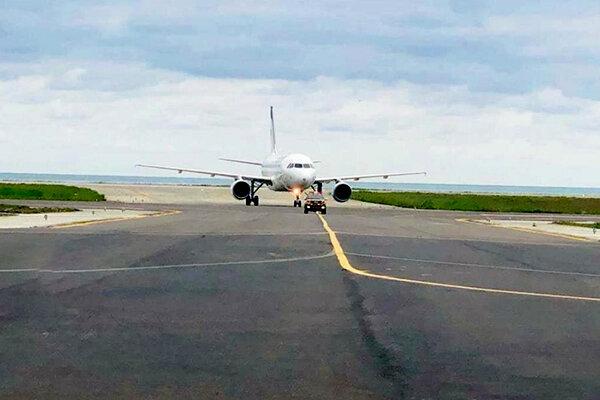 باند جدید فرودگاه رامسر