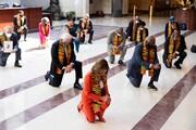 عکس روز| زانو زدن به احترام جرج فلوید