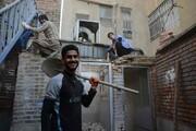 بازسازی خانه نیازمندان به همت خیّران منطقه۱۸