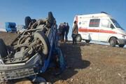دو کشته و سه زخمی در دو حادثه رانندگی جاده شاهیندژ-تکاب