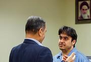 تصاویر ششمین دادگاه مدیر کانال آمدنیوز | پشیمانی آشکار در چهره روح الله زم