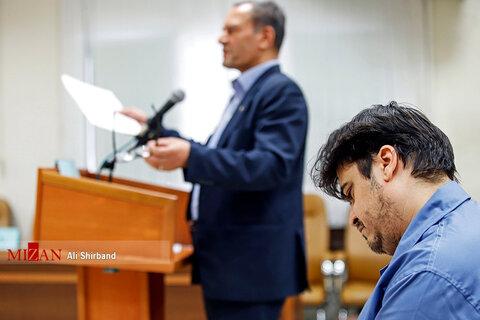 تصاویر ششمین  دادگاه روح الله زم