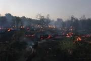 ۲ نفر از عوامل آتشسوزیهای کرمانشاه دستگیر شدند