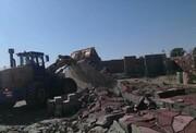 ۳۵ مورد ساخت و ساز غیرمجاز در ورامین تخریب شد