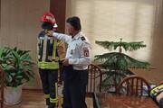 تجهیز آتشنشانان اراکی به لباس استاندارد