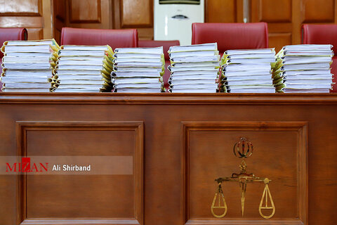 تصاویر دومین جلسه دادگاه اکبر طبری