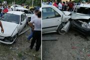 تصادف در محور هراز - تهران
