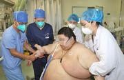 عکس | افزایش ۱۰۰ کیلویی وزن جوان ۲۶ ساله چینی در قرنطینه کرونا