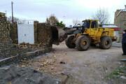 تخریب ۴۴ بنای غیرمجاز در بیرجند