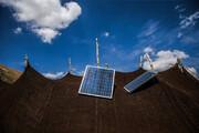 توزیع پنل خورشیدی بین عشایر کوچرو بازفت