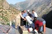توزیع ۴۱ دستگاه آبگرمکن خورشیدی در روستاهای مریوان و سروآباد