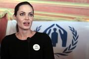 اعتراض آنجلینا جولی در دفاع از دختر سیاهپوستش