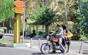 اولتیماتوم پلیس به زنانی که ترک موتور مینشینند
